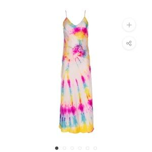 NWT dannijo neon tie dye dress
